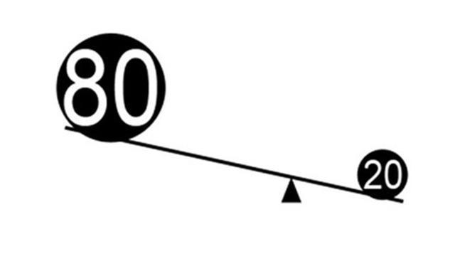 二八法则案例(二八原则相对应的效应经典案例分享)